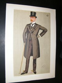 Vanity Fair Print 1892 Lord Houghton